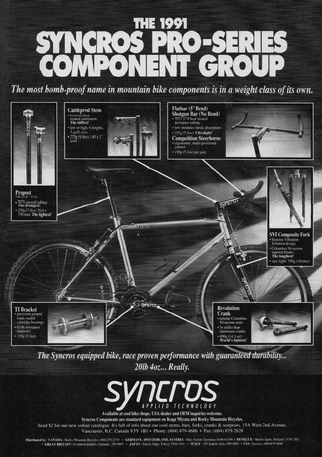 Vintage Original KONA Bicycle Catalog 2000